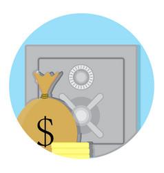 deposit box storage vector image vector image