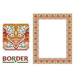 Certificates and awards borders - tiled frame vector