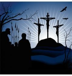 Crucifixion vector