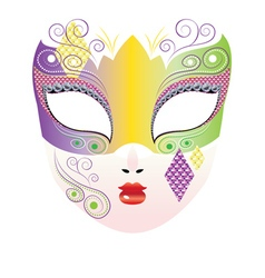 Decorative Carnival Mask3 vector