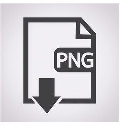 File type png icon vector