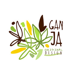 ganja logo vector images over 2 900 vectorstock