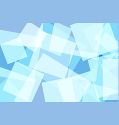 Light blue square abstract background vector