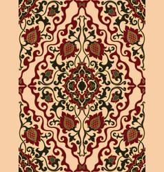 oriental rich ornament vector image