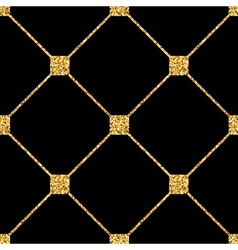 Rhombus seamless pattern black 1 vector