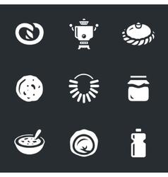 Set of Russian cuisine vector image