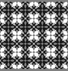 tile grey black and white pattern for seamless vector image