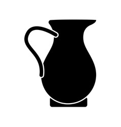 traditional juice jar icon vector image