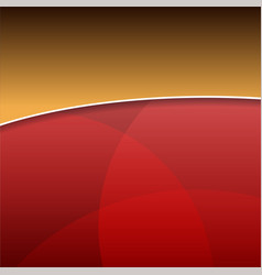 Abstract Red Light Background vector image