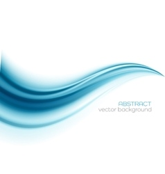 Beautiful Blue Satin Drapery Background vector image vector image