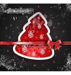 Christmas Vintage design background vector image