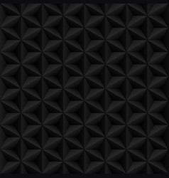 abstract black diamond 3d geometric seamless vector image