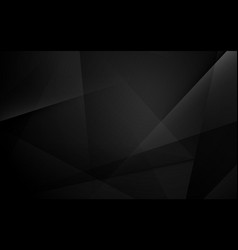 abstract black geometric dynamic presentation vector image