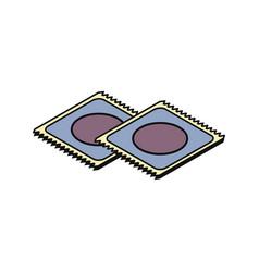 Condom isometric icon vector