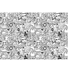 cool modern seamless pattern vector image
