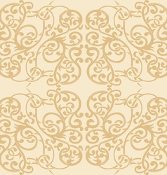 Floral Ornament Seamless Pattern 2 vector image