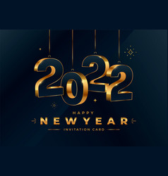 Happy new year 2021 greeting card design template vector