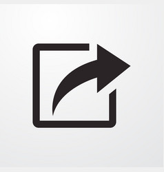 Share sign icon vector