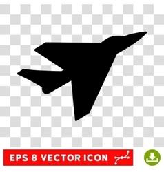 Intercepter eps icon vector