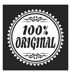 100 original vector image vector image