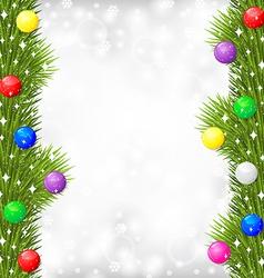 blur fir balls vector image