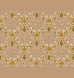 Art nouveau seamless pattern vector