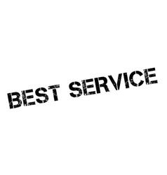 Best Service rubber stamp vector