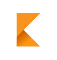 Initial k folded paper symbol vector
