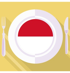 kitchen of Indonesia vector image