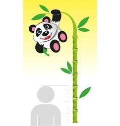 Line growth for children vector image