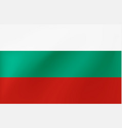 national flag bulgaria - beautiful vector image