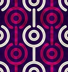 puple circle seamless pattern vector image