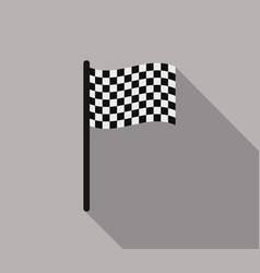 race flag vector image