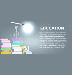 school education study symbol isolated university vector image