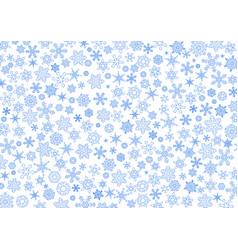 snowflakebackgroundcontourvs vector image