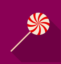 sweet candy on a stickparty and parties single vector image