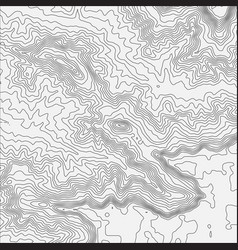 Topographic map background concept with space vector