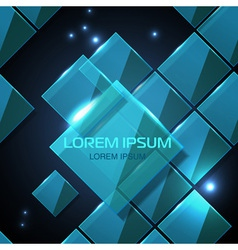 Web site technologe geometric glossy background vector image