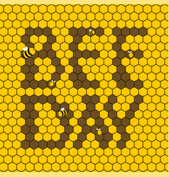 World bee day vector