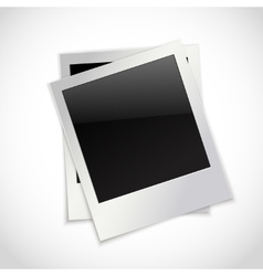 Photo frames isolated vector image