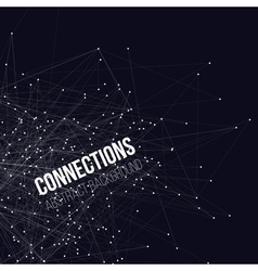 Connected Triangles Background vector