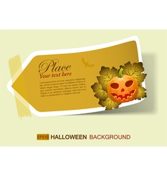 halloween invite vector image