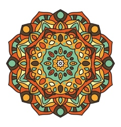 Mandala - Circle Ornament Design Element vector image