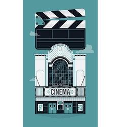 Movie Theatre Icon vector image