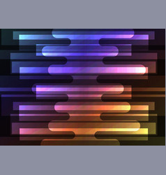 rainbow melt overlap abstract square background vector image