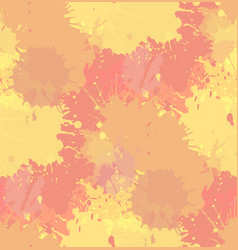 Seamless grunge texture with watercolor splashes vector