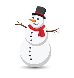 Snow man2 vector