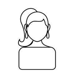 Woman icon avatar person design graphic vector image