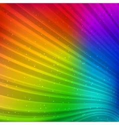 Colorful striped background vector image