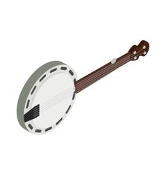 Banjo icon isometric 3d style vector image